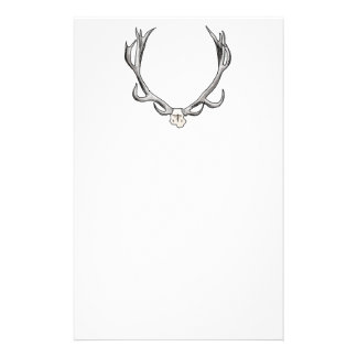 Faux Taxidermy Antler Study VOL 1 Stationery