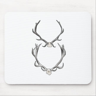 Faux Taxidermy Antler Study VOL 2 Mouse Pad