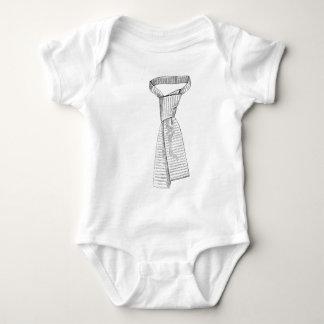 Faux Tie Infant Boy Bodysuit