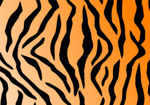 958742da1c Faux Tiger Print Cloth Placemat