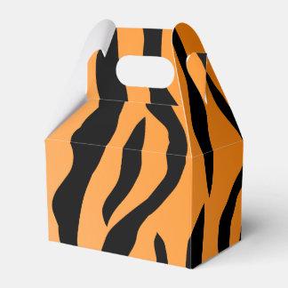 Faux Tiger Print Favor Box