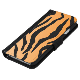 Faux Tiger Print iPhone 6/6s Wallet Case