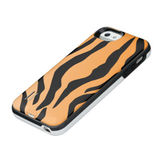 Faux Tiger Print iPhone SE/5/5s Battery Case