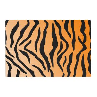 Faux Tiger Print Placemat