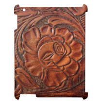 Faux Tooled Leather iPad 2/3/4 Case iPad Case