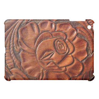 Faux Tooled Leather  iPad Mini Cover