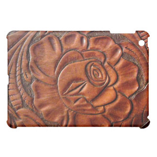 Faux Tooled Leather  iPad Mini Cover