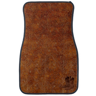 Faux Tooled Leather Western-style & Cowboy Boots Floor Mat