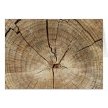 Faux Tree Rings Background Cards