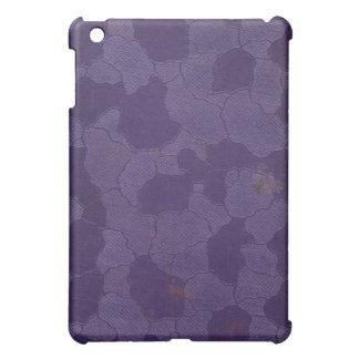 Faux vintage book cover texture, retro linen weave iPad mini cover
