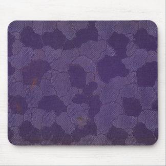 Faux vintage book cover texture, retro linen weave mouse pad