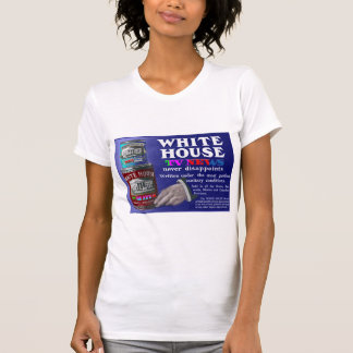 Faux Vintage White House TV News Ad Tee Shirts
