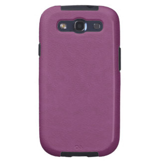Faux Violet Leather Galaxy S3 Case