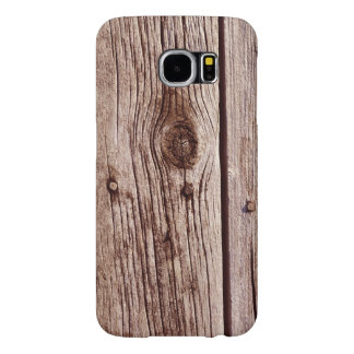 Faux Weathered Wood Board Rustic Phone Case