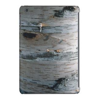 Faux White Birch Tree Bark Nature Device Case iPad Mini Retina Cover