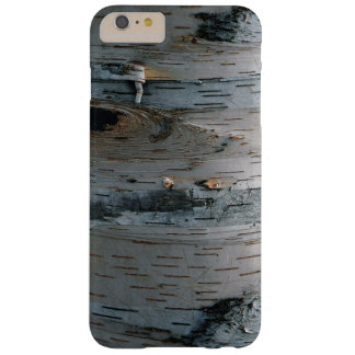 Faux White Birch Tree Bark Nature Device Case Barely There iPhone 6 Plus Case