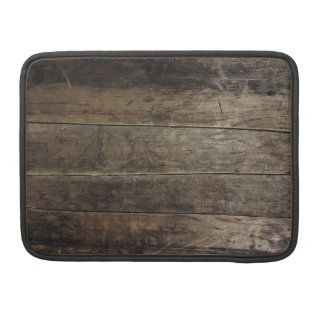 Faux Wood Case Sleeves For MacBook Pro