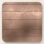 Faux Wood Cork Coaster
