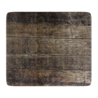 Faux Wood - Glass Cutting Board