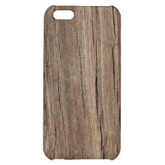 Faux Wood Grain Cover For iPhone 5C