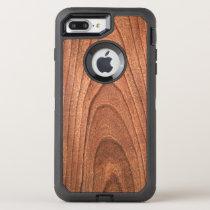 Faux wood grain pattern otter box 7 plus OtterBox defender iPhone 8 plus/7 plus case