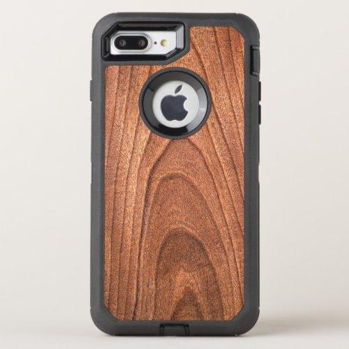 Faux wood grain pattern otter box 7 plus OtterBox defender iPhone 8 plus7 plus case