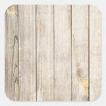 Faux Wood Grain Stickers
