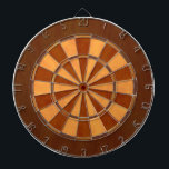 """Faux Wood Inlaid Dart Board<br><div class=""""desc"""">Dart board in cool colors instead of the usual red and black (or a photo where you can&#39;t see the targets).  This is great for the game room or man cave  Colors range from crazy to subdued so you are sure to find the right fit.</div>"""