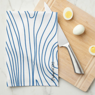 Faux Wood Kitchen Towel