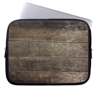 Faux Wood Laptop Sleeve