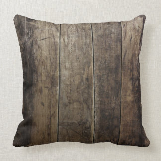 Faux Wood Pillow