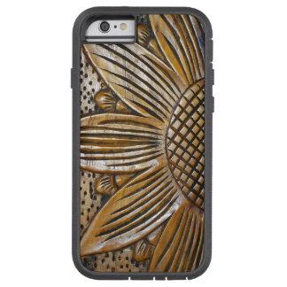 Faux Wood Sunflower Xtreme iPhone 6 6S Cases Tough Xtreme iPhone 6 Case