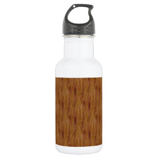 Faux Wood Water Bottle