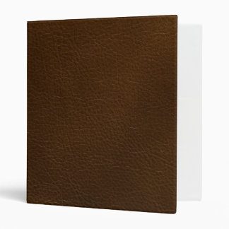 faux woodland leather binder