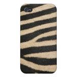 Faux Zebra Fur iPhone 4/4S Cover