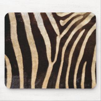 faux zebra print mouse pad