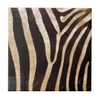 faux zebra print tiles