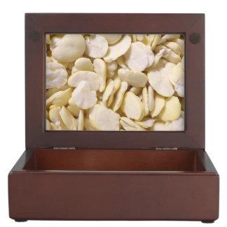 Fava beans keepsake box