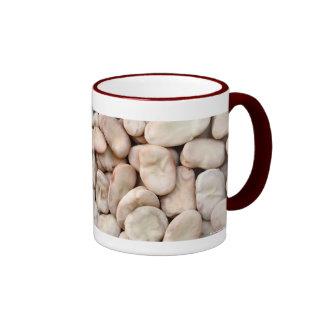 Fava beans coffee mugs