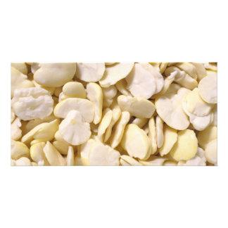 Fava beans photo card