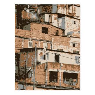 Favela Postcard
