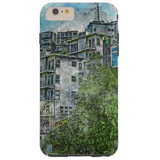Favelas 2020 de San Futurisco TwinPeaks Funda De iPhone 6 Plus Tough