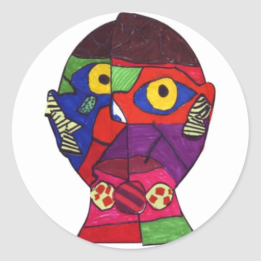 Favero-Caitlyn S Round Sticker