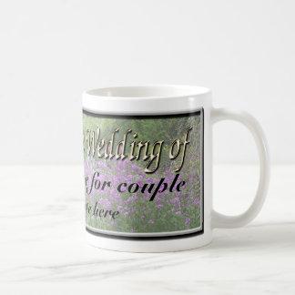 Favor adaptable del boda tazas de café