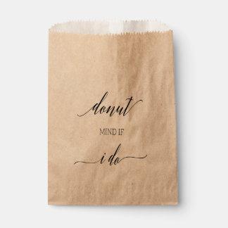 Favor Bag | Donut Mind If I Do