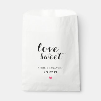 Favor Bag - Love is Sweet