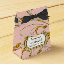 Favor Box Glam Old Hollywood Regency Black Tie