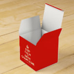 [Crown] keep calm and drink champagne  Favor Boxes