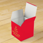 [Xmas tree] keep calm and make peace on earth  Favor Boxes Party Favour Box