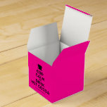 [Cup] keep calm and drink hot cocoa  Favor Boxes Party Favour Box